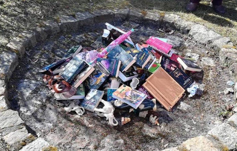 Cărți din seria Harry Potter, arse la o biserică catolică din Polonia