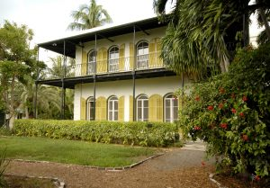 Casa lui Ernest Hemingway din Key West, Florida